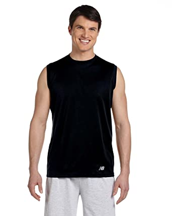 New Balance para hombre ndurance Athletic entrenamiento camiseta ... 4d3a9a9cd5bb5