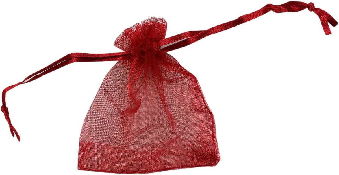 Dunkelblau SUPVOX 100 st/ücke Organza Kordelzug Geschenk Taschen Hochzeit Favor Taschen Schmuck S/ü/ßigkeiten Beutel Taschen Goodie behandeln s/ü/ße Taschen