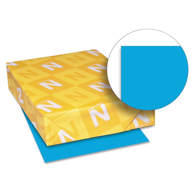 Neenah Paper 22661 Color Paper, 24lb, 8 1/2 x 11, Celestial Blue, 500 Sheets