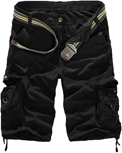 GITVIENAR Suelto Cortos Pantalones Pantalón Algodón Deporte Shorts ...