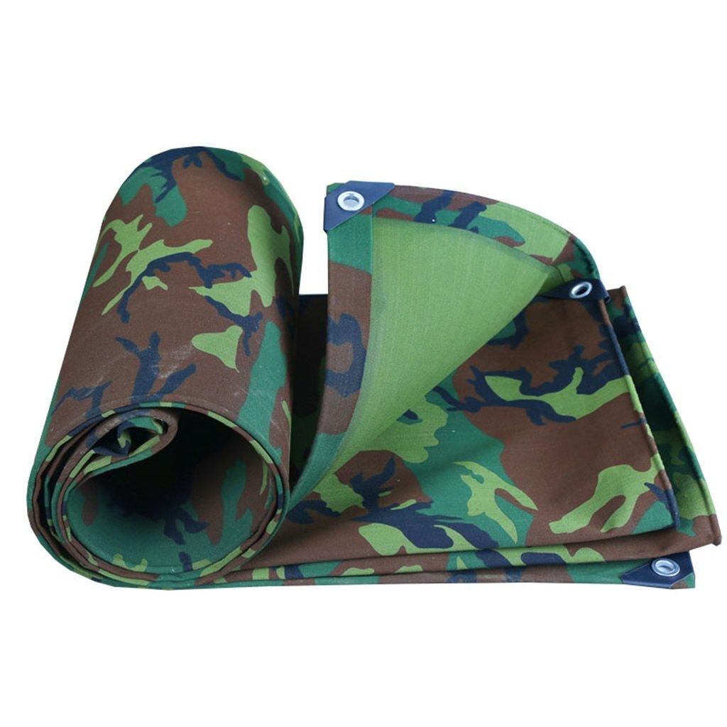 Mehrzweck Plane Plane Blatt wasserdicht Heavy Duty für Camping Angeln Gartenarbeit, Dicke 0,8 mm, 500 g   m² - 100% wasserdicht und UV-geschützt, 15 Größe verfügbar Schutzplane ( größe   2m4m )
