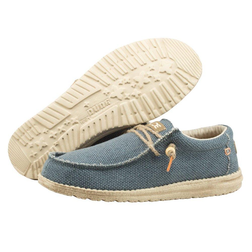 Dude Shoes Männer Wally Natürliche Marine Blau