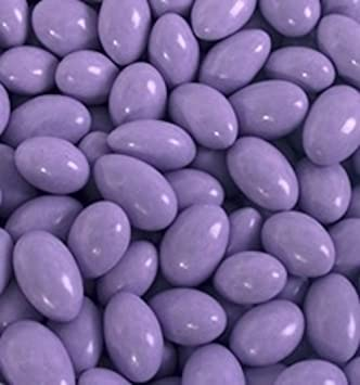 f5660f51d837 Image Unavailable. Image not available for. Color  Pastel Purple Chocolate  Jordan Almonds ...