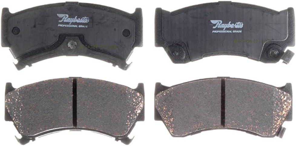 Raybestos PGD668C Professional Grade Ceramic Disc Brake Pad Set