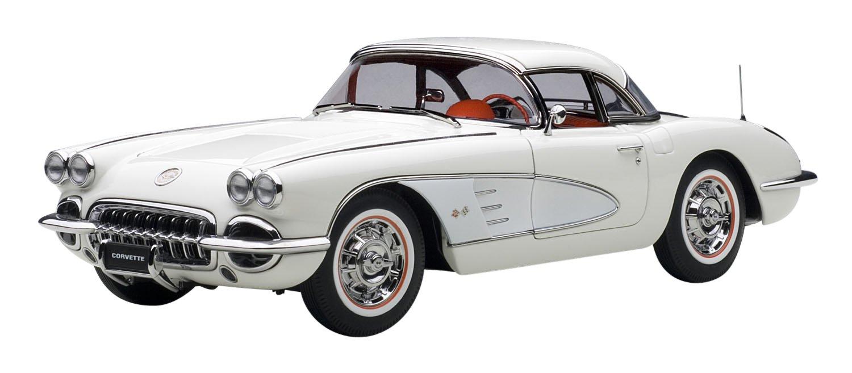 AUTOart 1/18 シボレー B00UNCVE46 シボレー コルベット 1958 (ホワイト) 1/18 完成品 B00UNCVE46, ワンダードック:c1cb17bc --- itxassou.fr