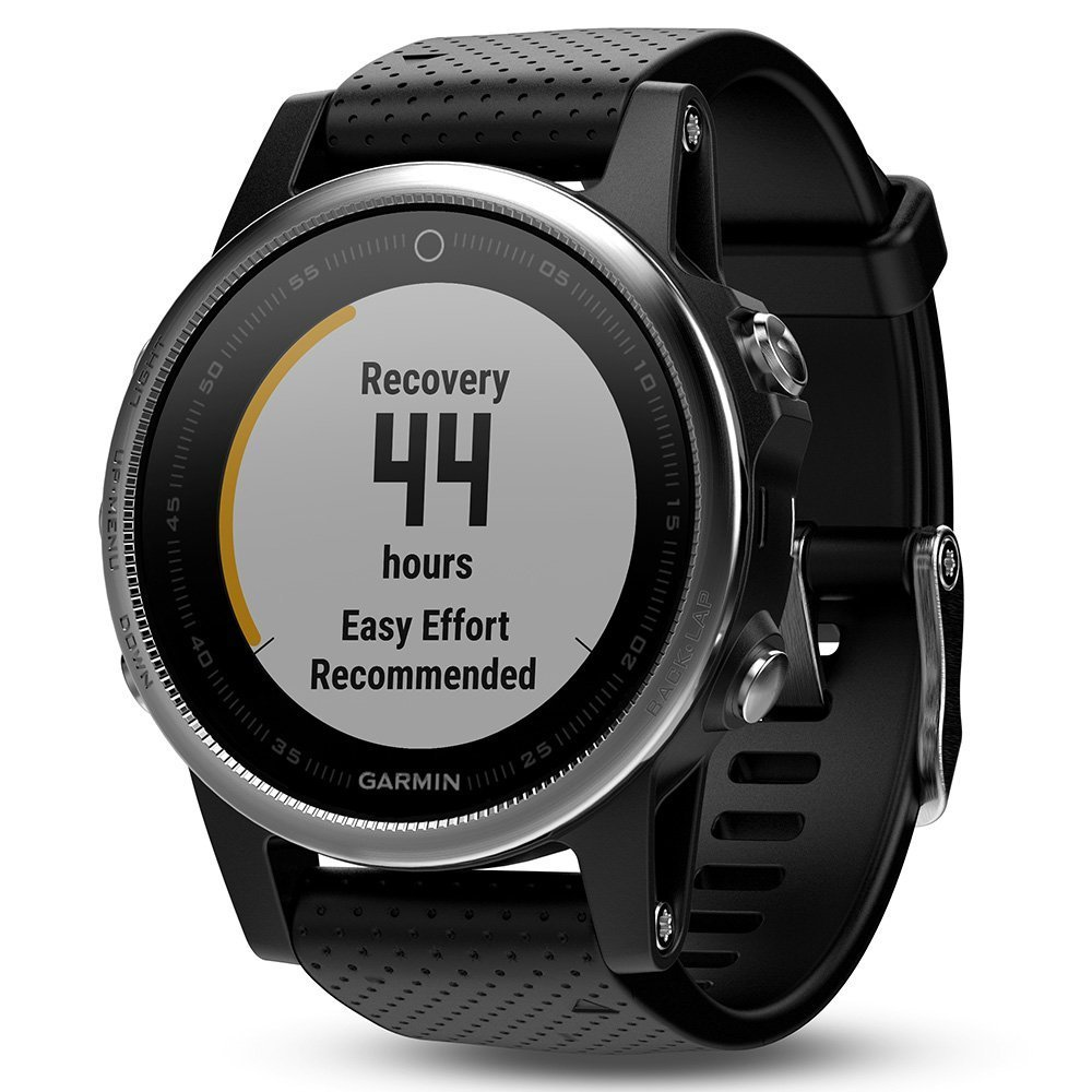 Garmin fenix 5S (Silver with Black Band) GIFT BOX Bundle | Includes HD Screen Protector, PlayBetter USB Car/Wall Adapter & Hard Case | Multi-Sport GPS Fitness Watch, Wrist-HR | Black Gift Box by PlayBetter (Image #5)