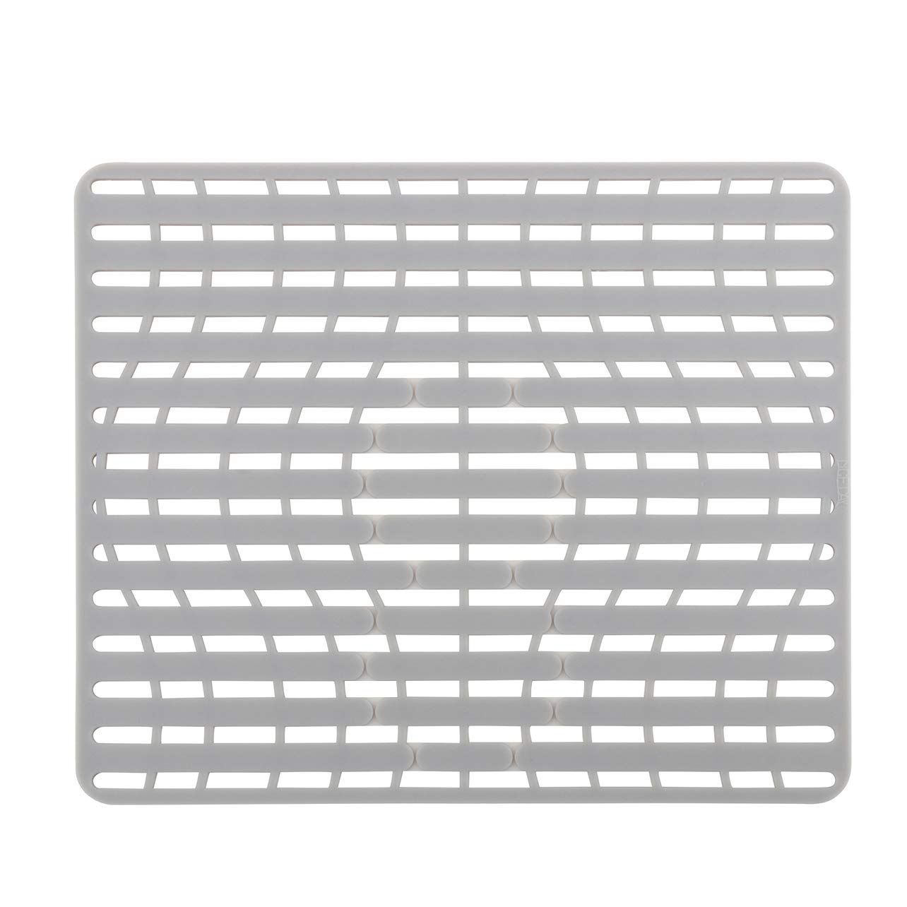 NICE DAY Sink Pad Sink Protector By Better Housewares Wok Stand Good Grips PVC Free Silicone Sink Mat, Large