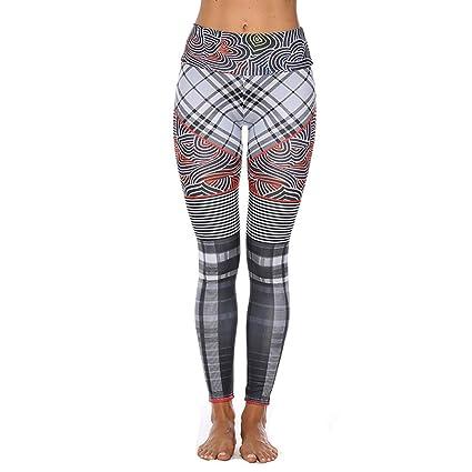 100bb2c21d598 Amazon.com: Jiayit Yoga Pants for Women Womens Yoga Workout Gym Print  Sports Running Jogging Pants Leggings Fitness Stretch Trousers: Clothing
