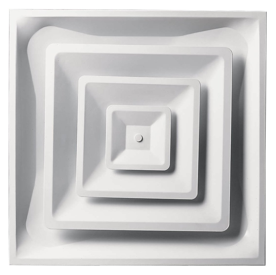 Accord Ventilation ABCD2X2 Ceiling Diffuser, 24'' x 24'', White