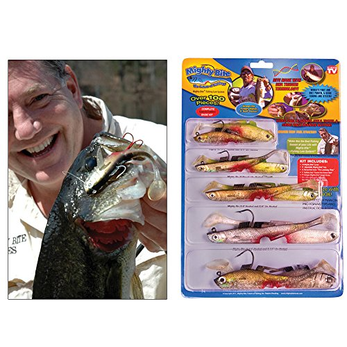 Mighty bite special edition kit lures as seen on tv for Fishing lure as seen on tv