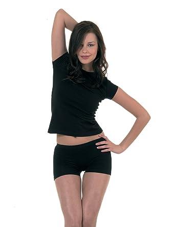 Elegance1234 Damen Super Weichen Baumwoll Stretch Lycra Sexy Shorts Ref2120ladies Sexy Shorts Amazon De Bekleidung
