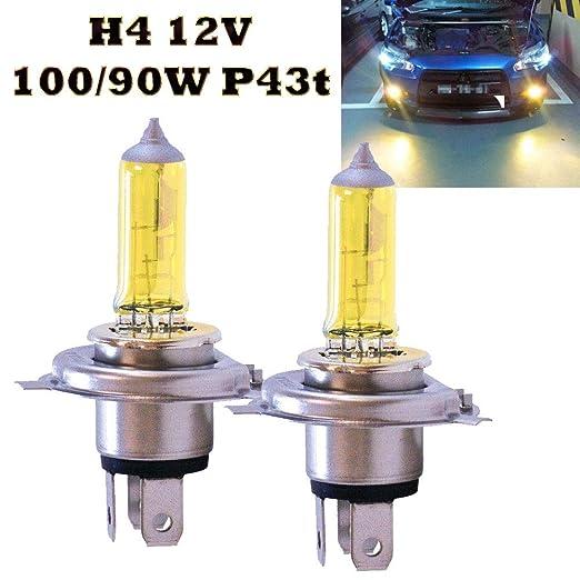 2x H1 JURMANN AQUA VISION YELLOW GELB HALOGEN AUTOLAMPE 12V 55W P14,5s **