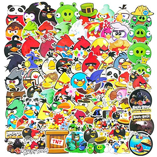 Angry Birds Game Cartoon Stickers Pack 100pcs