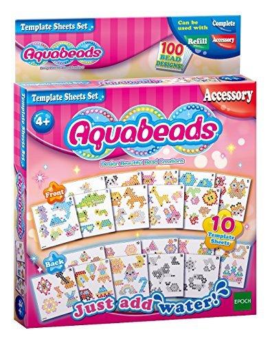 Aquabeads Template Sheets Set by Aqua Beads