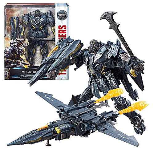 Transformers: The Last Knight Premier Edition Leader Class Megatron Action Figure