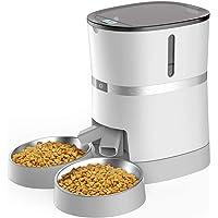 WellToBe Comederos automáticos de Mascotas para Perros y Gatos, dispensador de Comida para Gatos y Perros pequeños…