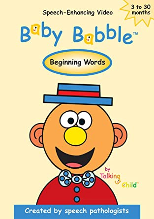 amazon com baby babble beginning words made by speech therapists