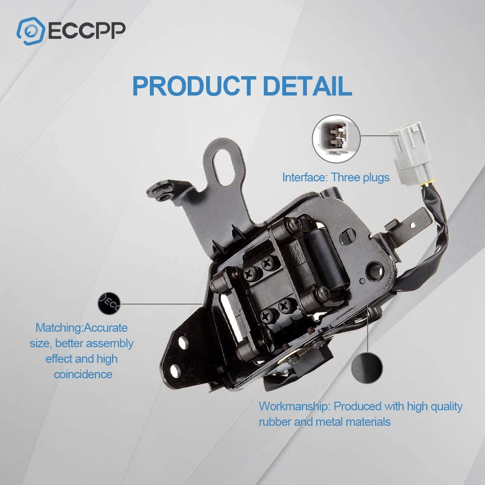 ECCPP Ignition Coil Pack of 1 Compatible with 2003-2008 Hyundai Elantra//Tiburon//Tucson Kia Spectra Replacement for 5C1427 UF419 IC539