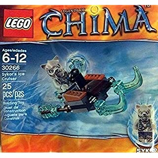 Lego, Legends of Chima, Skyor's Ice Cruiser (30266) Bagged