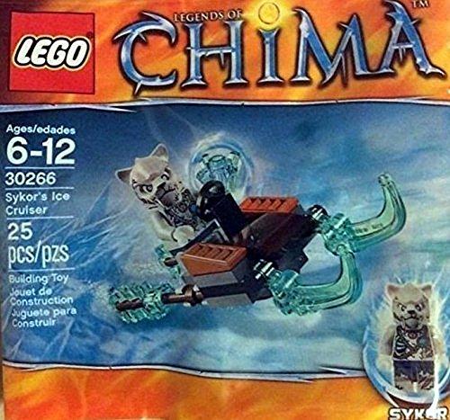 Lego, Legends of Chima, Skyor's Ice Cruiser (30266) Bagged