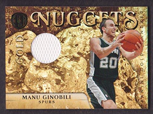 2010-11 Panini Gold Standard Basketball Nuggets Jersey #45 Manu Ginobili 126/199 SA Spurs