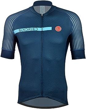 Sundried Camisa para Hombre Desgaste del Ciclo Pro Manga Corta Ciclismo Jersey Bici para la Bici del Camino de Bicicletas de montaña: Amazon.es: Deportes y aire libre