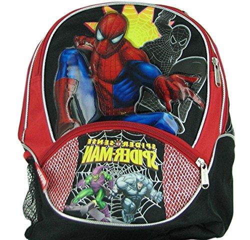 9a185943024e 1 piece black kids spiderman backpack