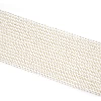 Generic Glass Pearl Beads Ivory White Color for DIY Jewelry Making Crafts Projects