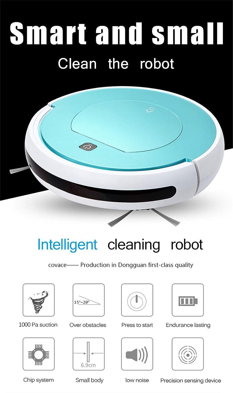 E-KIA Aspiradora Robot De Limpieza,Aspirador EléCtrico Ultrafino, Carga AutomáTica, Adecuado, Pink: Amazon.es: Deportes y aire libre