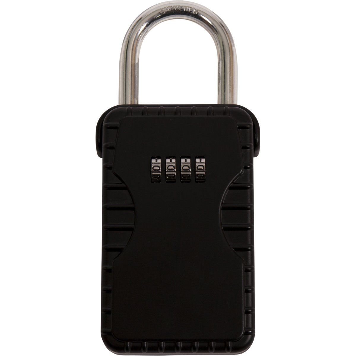 Duralock 4 Digit Combination Key Safe with Hardened Metal Steel Shackle Lock Home Security Box Outside Outdoor High Secure Keys Storage