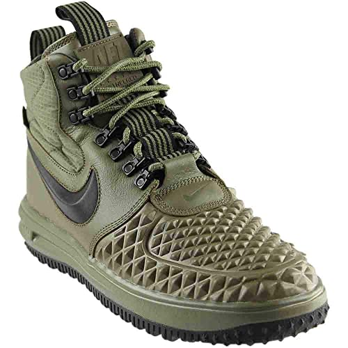 pretty nice 55719 bc932 NIKE Mens Lunar Force 1 Duckboot  17 Medium Olive Black-Wolf Grey 916682-202  Size 11.5  Amazon.co.uk  Shoes   Bags