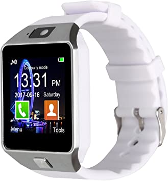 Padgene® Bluetooth Camera Smart Watch Wrist Watch Compatible with ...