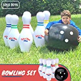 "Giant Inflatable Kids Bowling Set - 6 27"" Jumbo"