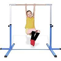 3542dc093fe2 Costzon Junior Training Bar, Stainless Steel Gymnastic Horizontal Bar,  Height Adjustable 39