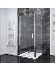 1000mm Frameless Pivot Shower Door Glass Reversible Shower Enclosure Screen