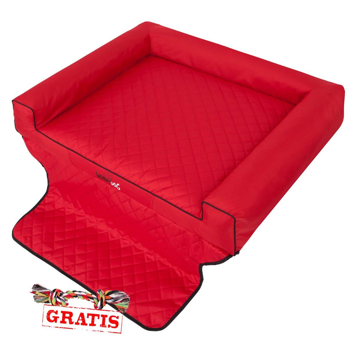 Hobbydog VIKI Trunk vitcze6 + Ball gratis Auto Protección techo para maletero Colchón techo (4 Tamaños Diferentes): Amazon.es: Productos para mascotas