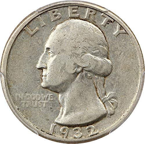 1932 D Washington Quarters (1932-98) Quarter VF30 PCGS