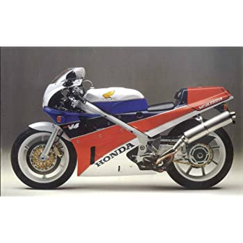 1989 Honda VFR750R RC 30 Resin Model in 1:43 Scale by Spark