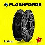 FLASHFORGE 3Dプリンター フィラメント PLA 600g ブラック PLA-F14