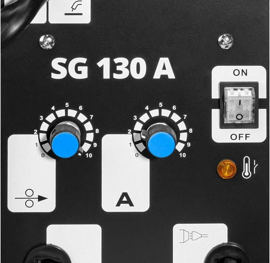 G/üde F/ülldrahtschwei/ßger/ät SG 130 A inkl 2x F/ülldrahtrolle