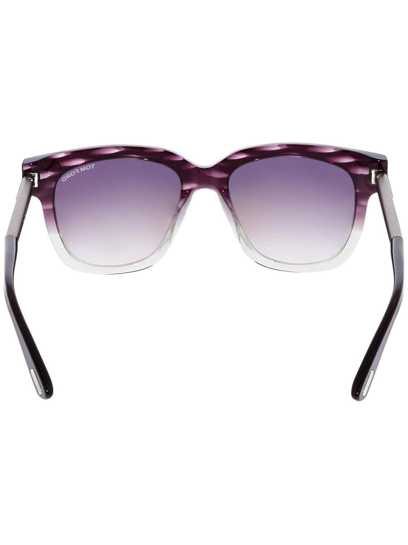692810efe2b8b Amazon.com  Sunglasses Tom Ford TF 436-F FT0436-F 83T Violet Gradient  Bordeaux  Tom Ford  Clothing
