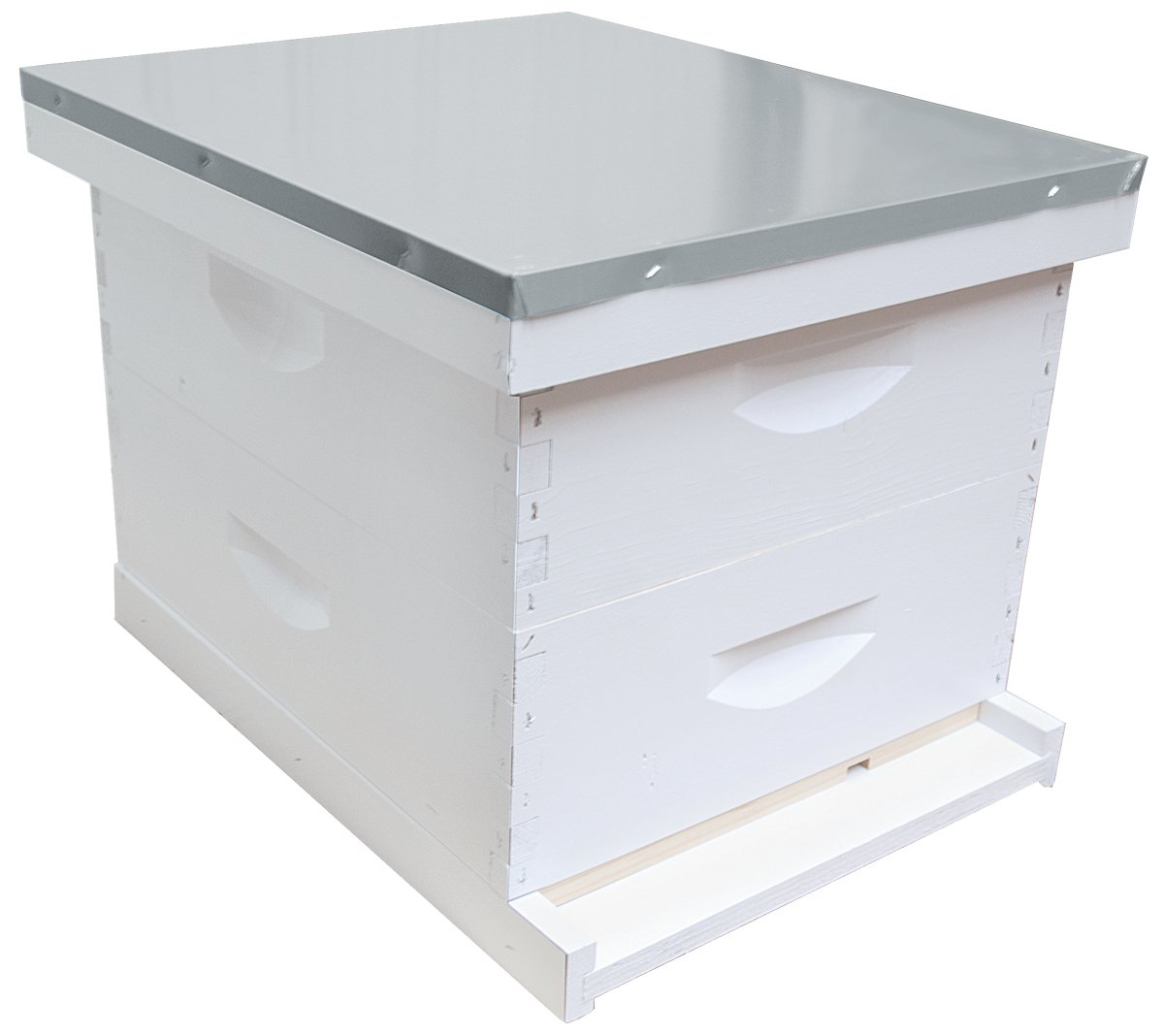 10-Frame Complete 6-5/8-Inch Hive Kit, Assembled, Made in The USA by Mann Lake