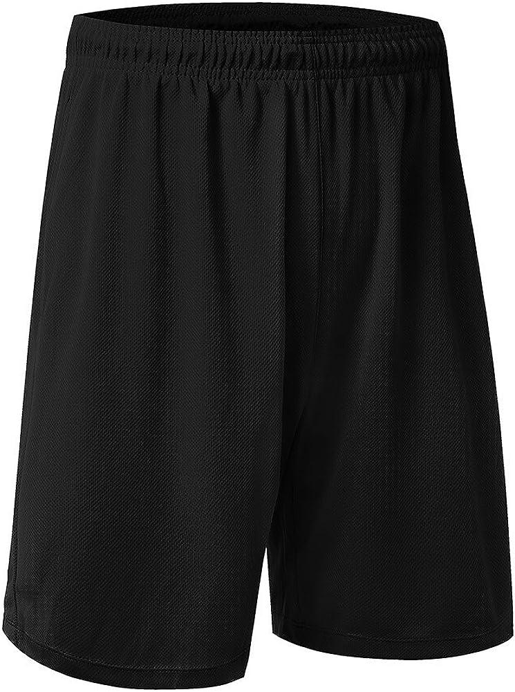 Men Breathable Running Shorts Boys Basketball Boxing Fitness Sports Shorts