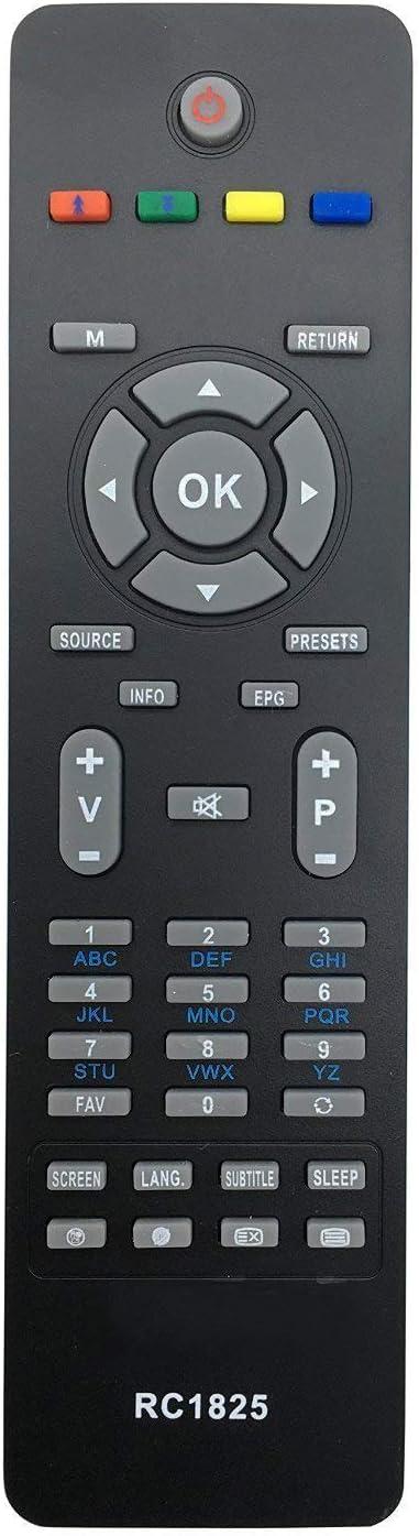 ALLIMITY Control Remoto RC1825 RC-1825 para Modelo Especifico para CELCUS Hitachi JMB Telefunken VESTEL TV: Amazon.es: Electrónica