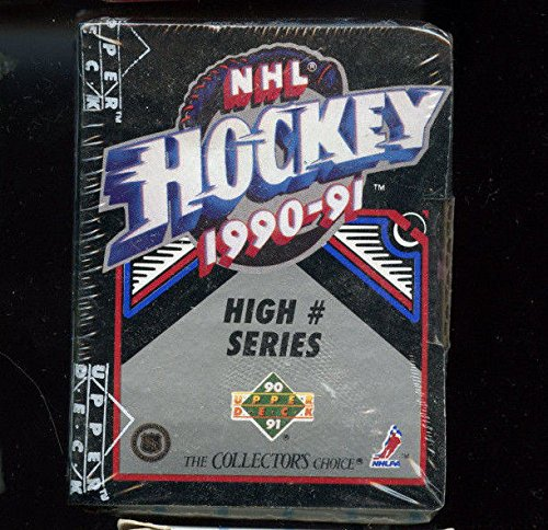 - 1990-91 Upper Deck Hockey Card High Number Series # Complete Box Set FACTORY