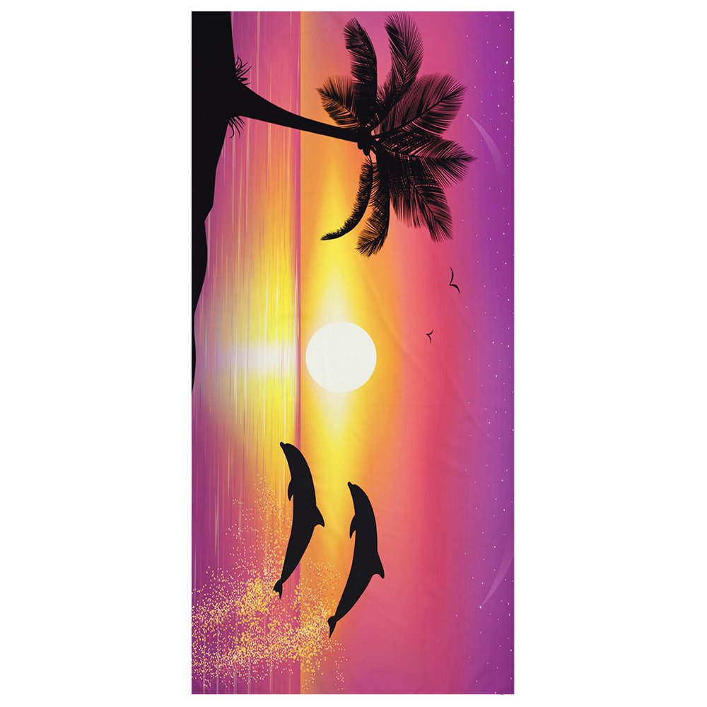 Chlove Coconut Tree Microfiber Beach Towel 30