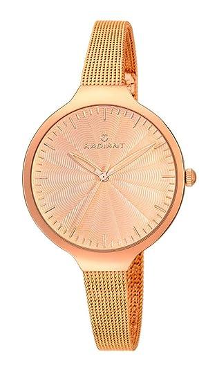 Radiant Reloj Analógico para Mujer de Cuarzo con Correa en Acero Inoxidable RA336203: Amazon.es: Relojes