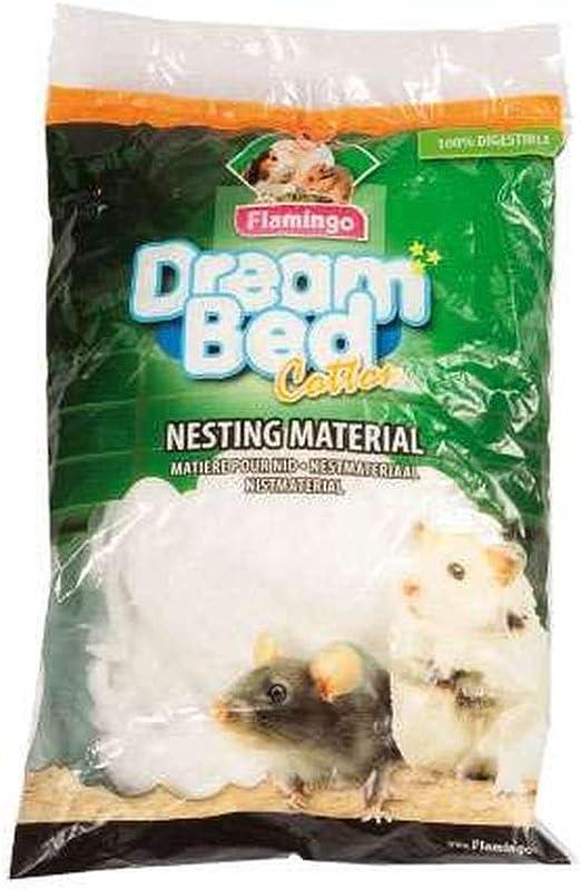Flamingo Algodon Lana para Hamster: Amazon.es: Productos para mascotas