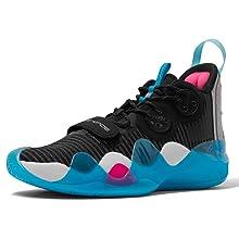 LI-NING Wow 8 'TeamNoSleep' Wade Men Professional Basketball Shoes Boom Technology Sports Shoes Sneakers ABAP113-2 US 7.5