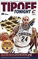AUTOGRAPHED 2015 Richard Jefferson #24 Cleveland Cavaliers Basketball TIPOFF TONIGHT GAME PROGRAM (Official Program of the Cavs) 6X9 Inch Signed Rare Collectible Game Guide with COA & Hologram